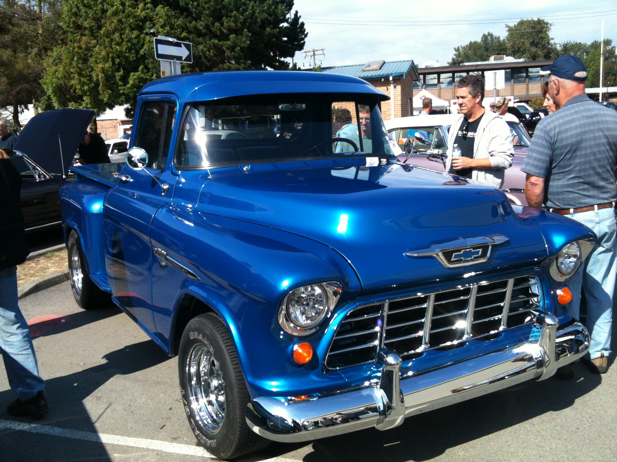 1955 Chevy Truck | Studz Custom Designs