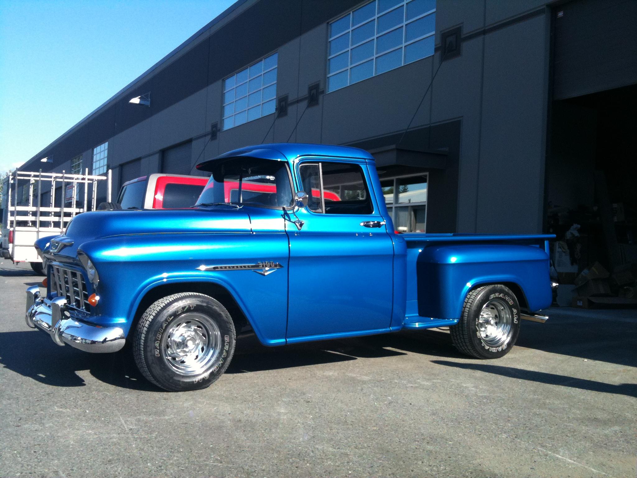 1955 Chevy Truck Studz Custom Designs